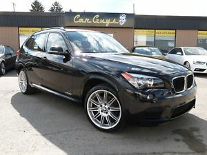 2014 BMW X1 xDrive28i M SPORT - H. Red Leather, 19M Alloys,