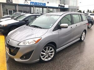 2017 Mazda Mazda5 GT, LEATHER, SUNROOF, $137 BI WEEKLY