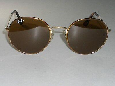 52 21 Vintage B&L RAY-BAN Tortuga B15 Rund Fahren Aviator Sonnenbrille mit Etui (Ray-ban Sonnenbrille Fahren)