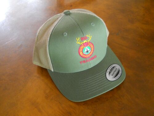 """BOY SCOUTS OF AMERICA NATIONAL CAMPING SCHOOL """"TRAINED"""" CAP  (NEW WITH TAGS)"""
