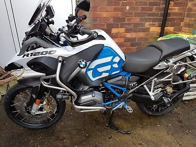 BMW R1200GS Adventure Rallyee TE with TFT and Factory Lowered