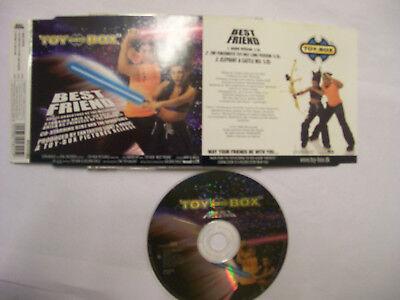 TOY-BOX Best Friend – 1999 German CD – Euro House – (Best German House Music)