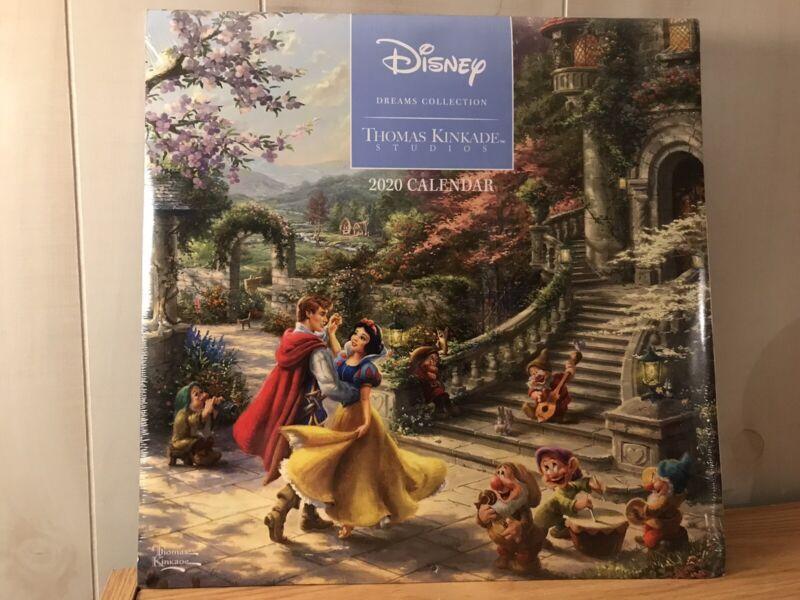 Disney Thomas Kinkade Studios Dreams Collection 2020 Calendar SEALED