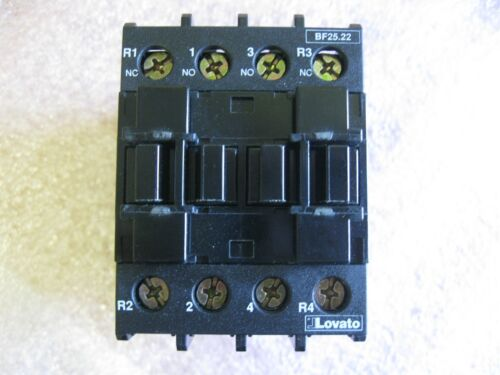 LOVATO BF25.22-024VAC CONTACTOR 100279