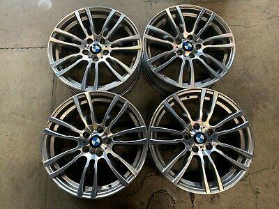 Four 2012-2019 BMW 330 335 428 440 Factory 19 Wheels Rims OEM 71621 71623