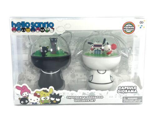 Hello Sanrio Exclusive Capsule Diorama Chococat and Pochacco Mini Figurines