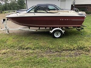 18' reinell outboard