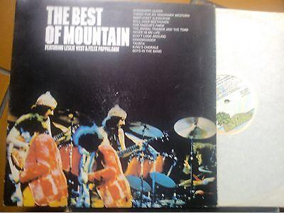 LP THE BEST OF MOUNTAIN ORIGINAL GATEFOLD ITALY ISLAND 19236 PALM