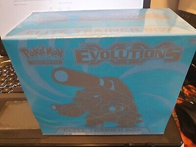 Pokemon XY EVOLUTIONS Elite Trainer Box Factory Sealed Blastoise