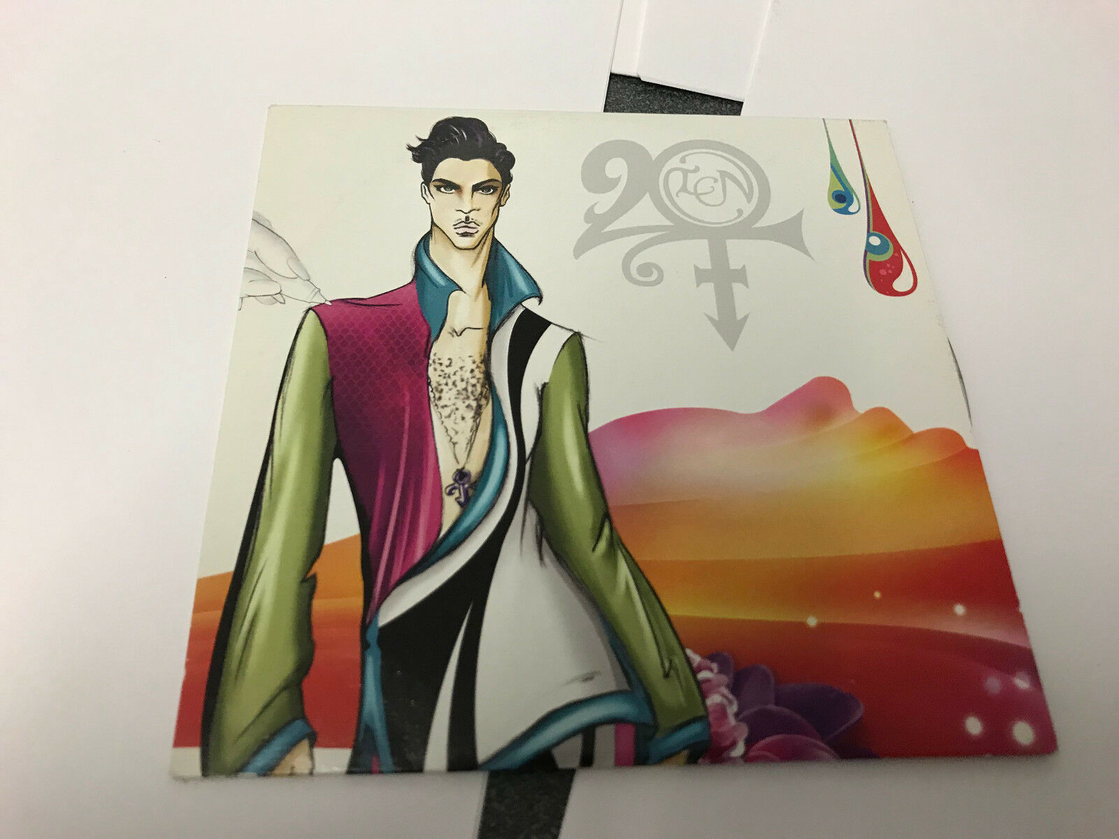 PRINCE 20TEN NPG RECORDS 2010 UK CD PROMO 20 TEN EX/EX
