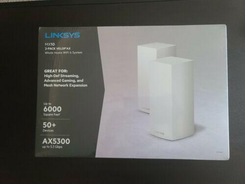 Linksys MX10 Velop AX Whole Home Wi-Fi 6 System - MX10600