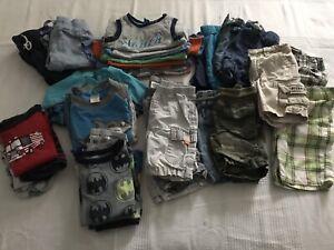 Lot vêtements été garçon 18/24 mois