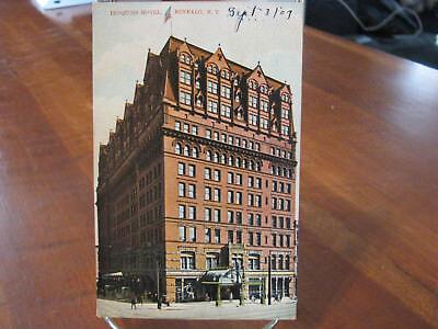 """1909 """"Iroquois Hotel, Buffalo, N.Y."""" Postcard"""