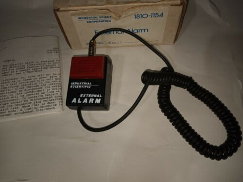 NEW GENUINE INDUSTRIAL SCIENTIFIC CORP. 1810-1154 EXTERNAL ALARM MADE IN USA