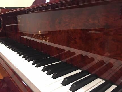 Brodmann PE-187 6.1ft Bubinga Polish Grand Piano