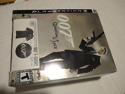 JAMES BOND 007: QUANTUM OF SOLACE ps3 Bundle + T-SHIRT NEW free shipping sealed comprar usado  Enviando para Brazil