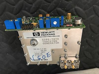 Hp Agilent Spectrum Analyzer 8560e 8560a Tracking Generator 5086-7879 2.9 Ghz