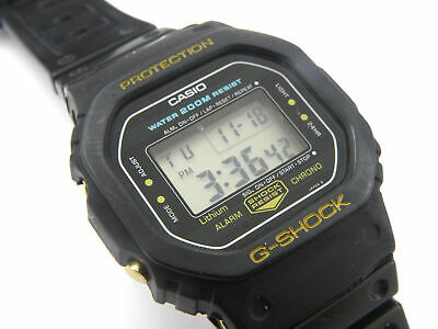 Gents Vintage CASIO G-Shock Gold DW-5200C Watch - 200m