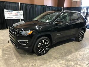 2018 Jeep Compass Limited 4X4 W/Power Liftgate, Sunroof