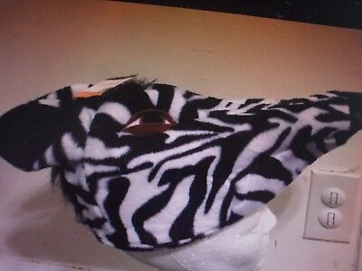 New !  Kids Zebra Hat Cartoon Movie Costume Accessory