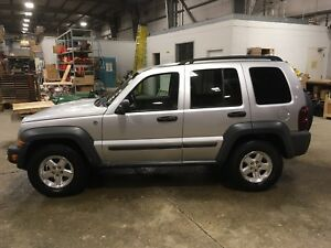 2006 Jeep Liberty CRD trail rated