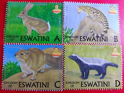 New Eswatini Stamps (Animals and 50th Anniversary)