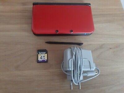 Nintendo 3DS XL + original Ladekabel - Rot (Nintendo 3ds Rot Xl)