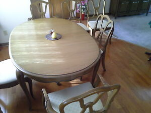 Dining Room Set--Unique, Solid Wood; Table, Buffet & Hutch Windsor Region Ontario image 2