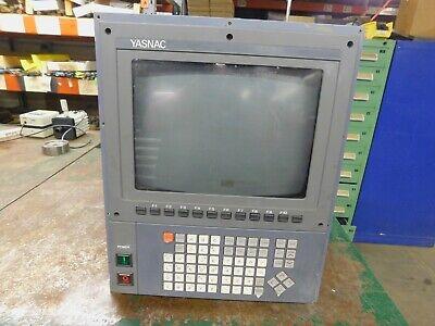 Yaskawa Jznc-10p75e Monitor Control Panel Yasnac I80 Cnc