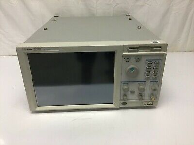 Agilent 16702b Logic Analyzer Mainframe Touchscreen W Opt 003 Tested