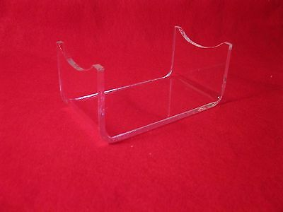 Acrylic Civil War  Cannon Artillery Short Shell Projectile Display Stand