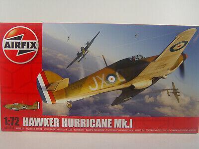 Hawker Hurrican Mk.I - Airfix Flugzeug Bausatz 1:72 - 01010 #E