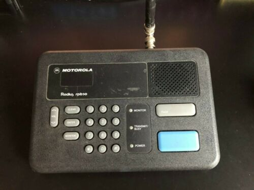 Motorola Radius rpb50 pager transceiver