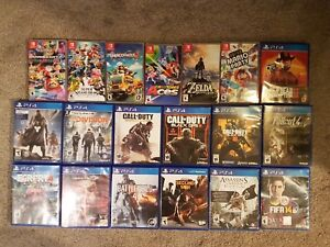 Video games Videogames for rent in Mississauga Switch and  PS4