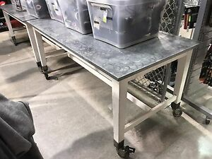 Heavy duty commercial table