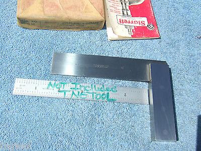 Starrett No.20 4-12 Vintage Square Paper Box Toolmaker Machinist Usa Squares