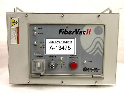 Particle Measuring Systems Fibervac Ii Laser Control Unit Dc13733 Rev. B Used