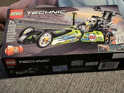 LEGO Dragster Technic (42103) retro friction Factory sealed