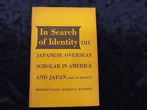 IN-SEARCH-OF-IDENTITY-BY-JOHN-W-BENNETT-HB-1958-UK-POST-3-25