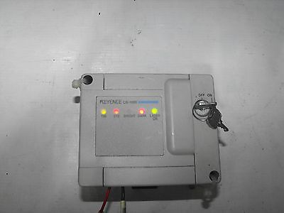 Keyence Lb-1000 Laser Displacement Sensor Controller With Key