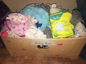 Newborn and Up Baby Girl Clothing + more