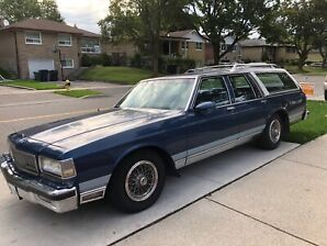 1989 Chevy Caprice station wagon