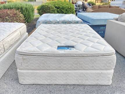 TODAY DELIVERY Queen ensemble bed & mattress COMFORTABLE SALE