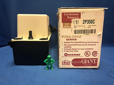 Little Giant Vcma15uls-554914 2p350c Condensate Removal Pump