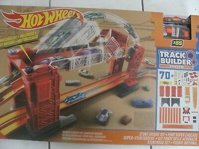 Mattel Hot Wheels Track Builder Bridge Stunt Kit-Track Builder Super Stunt-Brück