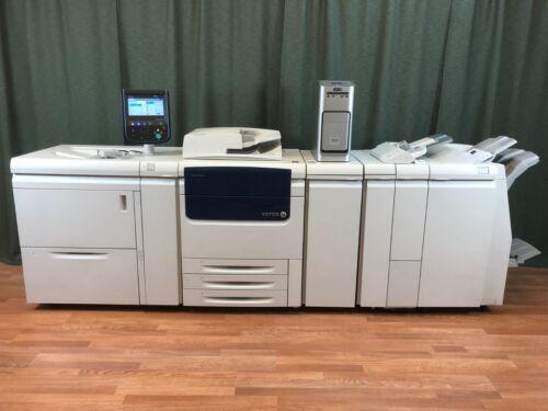 Xerox Color C75 Press Copier Printer Scanner with EXC75 Fiery 300gsm Duplex 100k