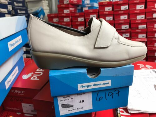 Ladies+Off+White+Soft+Leather+Shoes+Size+6