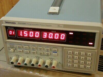 Tektronix Ps2520g Triple Output Programmable Dc Power Supply