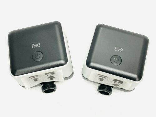 LOT OF 2 Eve Elgato 20EAI4101 Aqua Smart Water Controller w/ HomeKit Technology