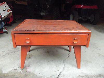 Vintage Child's Kid Wooden School Play Desk